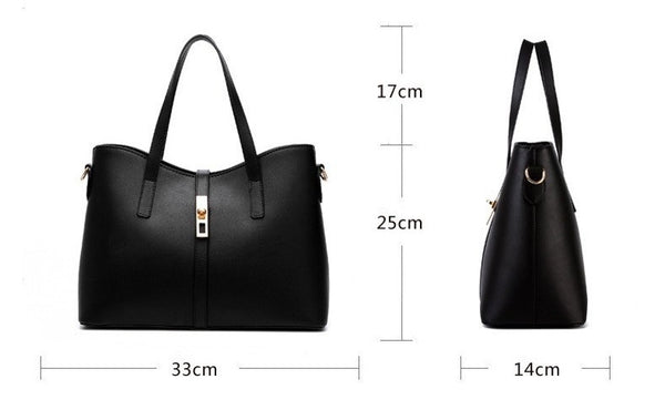 Olivia Leather Tote - Belle Valoure - 12