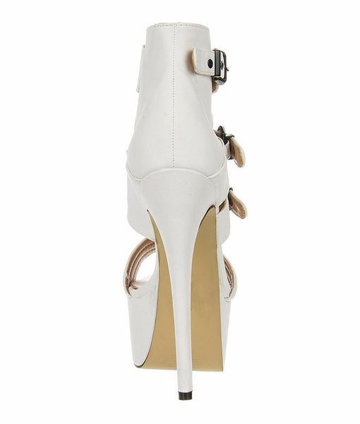 Milia High Heel Sandal - Belle Valoure - 6