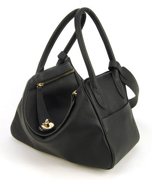 Lux Genuine Leather Tote - Belle Valoure - 2