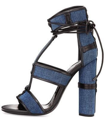Lux Leather Sandals - Belle Valoure - 4