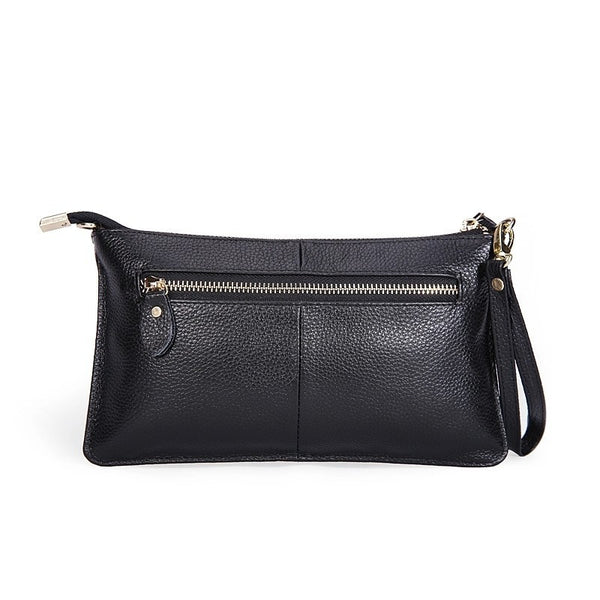 Genuine Leather Envelope Clutch - Belle Valoure - 11