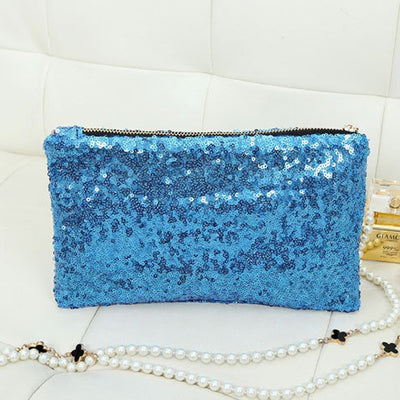 Sequin Clutch - Belle Valoure - 5