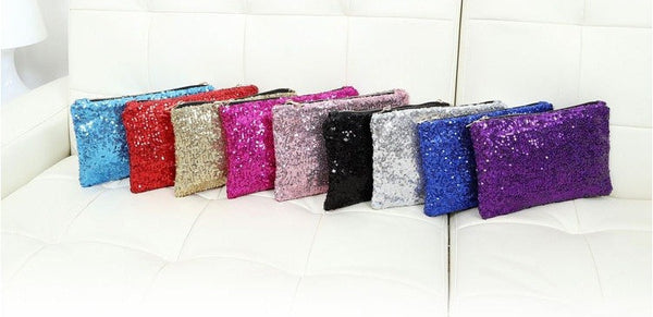 Sequin Clutch - Belle Valoure - 9