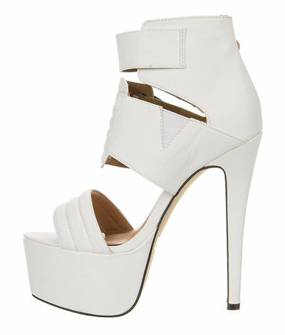 Milia High Heel Sandal - Belle Valoure - 3