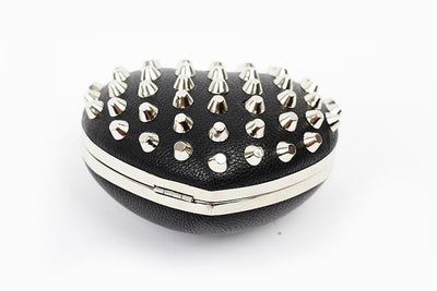 Rivet Heartshaped Clutch - Belle Valoure - 10