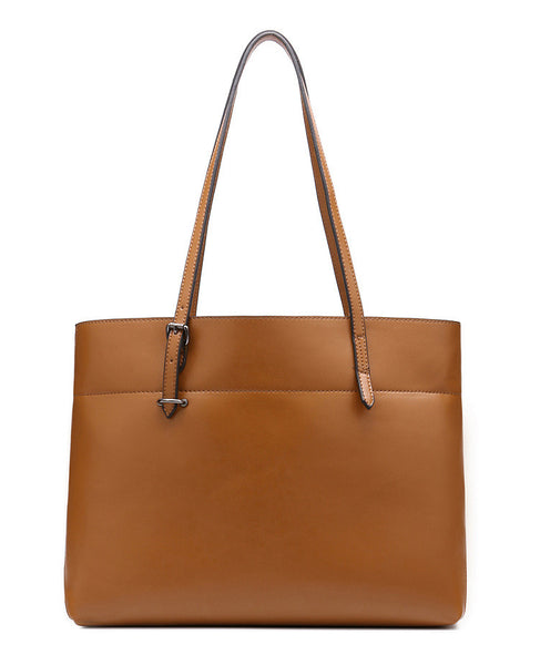 Genuine Leather Tote - Belle Valoure - 17