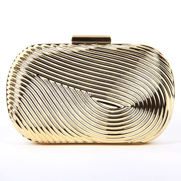 Metal Clutch - Belle Valoure - 1