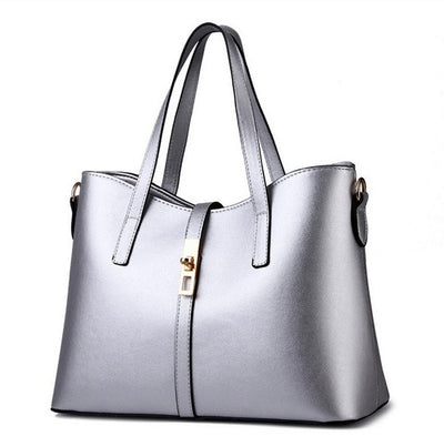 Olivia Leather Tote - Belle Valoure - 4