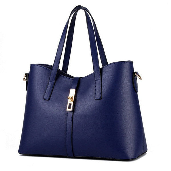 Olivia Leather Tote - Belle Valoure - 11