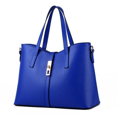 Olivia Leather Tote - Belle Valoure - 8