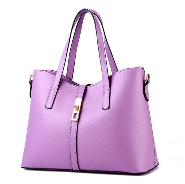 Olivia Leather Tote - Belle Valoure - 2