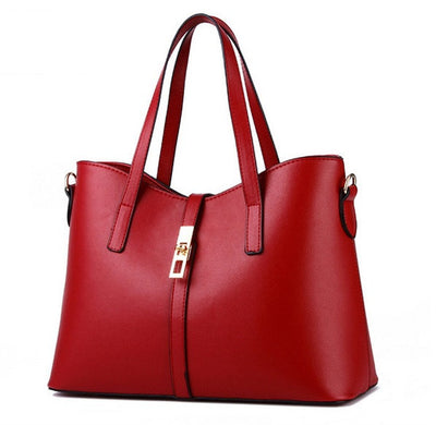 Olivia Leather Tote - Belle Valoure - 3