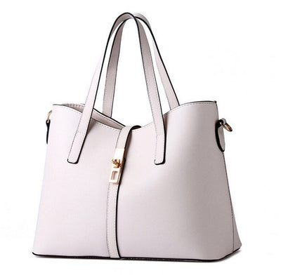 Olivia Leather Tote - Belle Valoure - 7