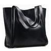 Olivia Genuine Leather Tote - Belle Valoure - 4