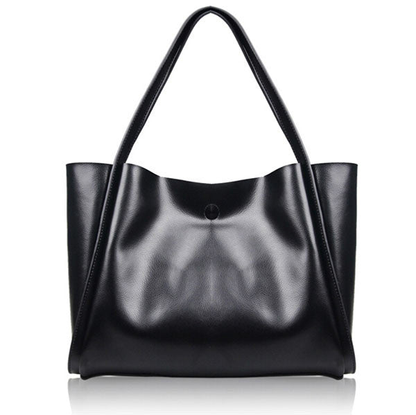 Olivia Genuine Leather Tote - Belle Valoure - 5
