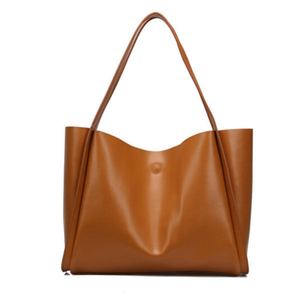 Olivia Genuine Leather Tote - Belle Valoure - 1