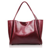 Olivia Genuine Leather Tote - Belle Valoure - 7