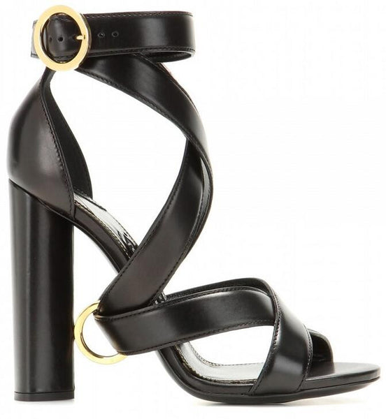 Lux Leather Sandals - Belle Valoure - 1