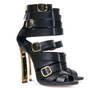Lora Belted Gladiator Sandals - Belle Valoure - 1