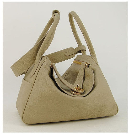 Lux Genuine Leather Tote - Belle Valoure - 7