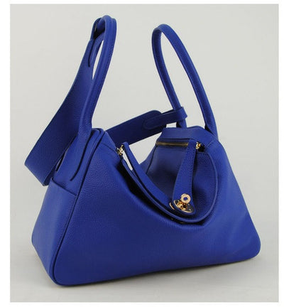 Lux Genuine Leather Tote - Belle Valoure - 8