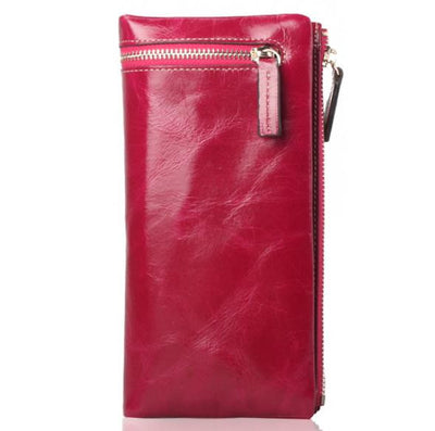 Genuine Leather Wallet - Belle Valoure - 3