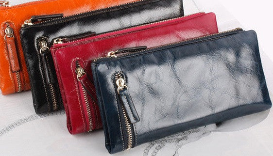 Genuine Leather Wallet - Belle Valoure - 7