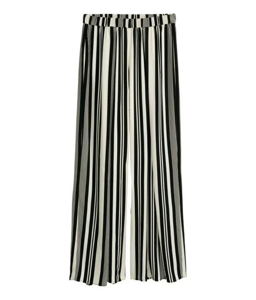 Lila Striped Stretch Trousers - Belle Valoure - 3
