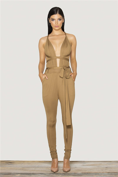 Tamarin Wrapped Jumpsuit - Belle Valoure - 4