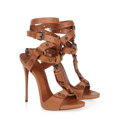 Tamara Gladiator Sandals - Belle Valoure - 6