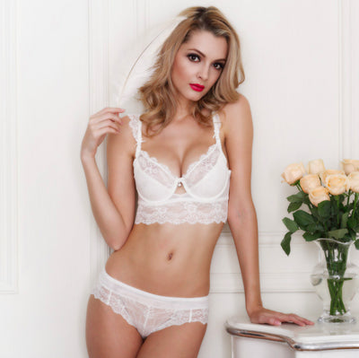 Tamarin Lace Bra And Panty Set - Belle Valoure - 5