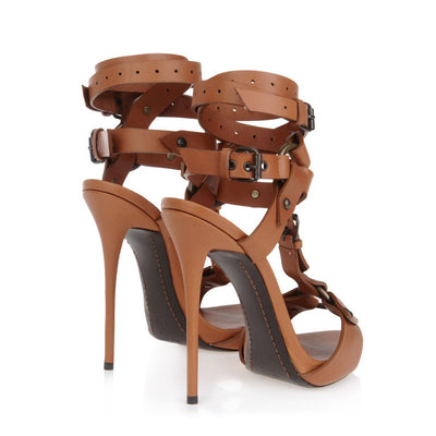 Tamara Gladiator Sandals - Belle Valoure - 7