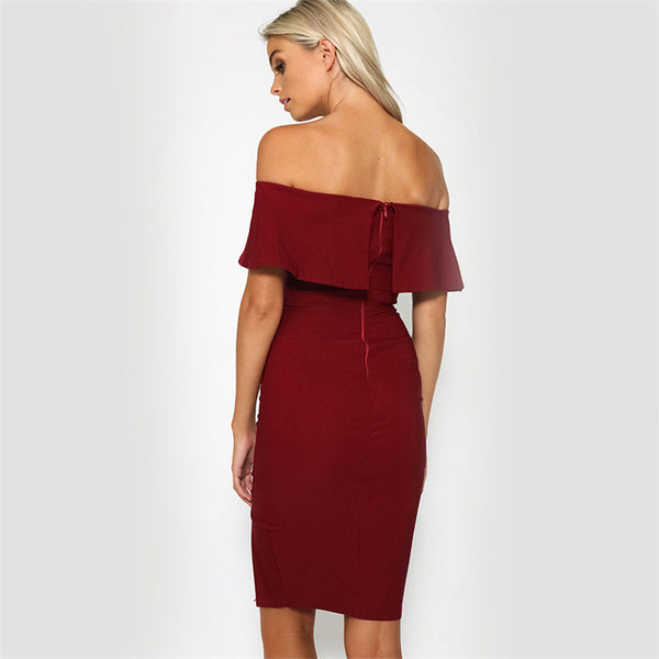 Tamaran Off Shoulder Dress - Belle Valoure - 4