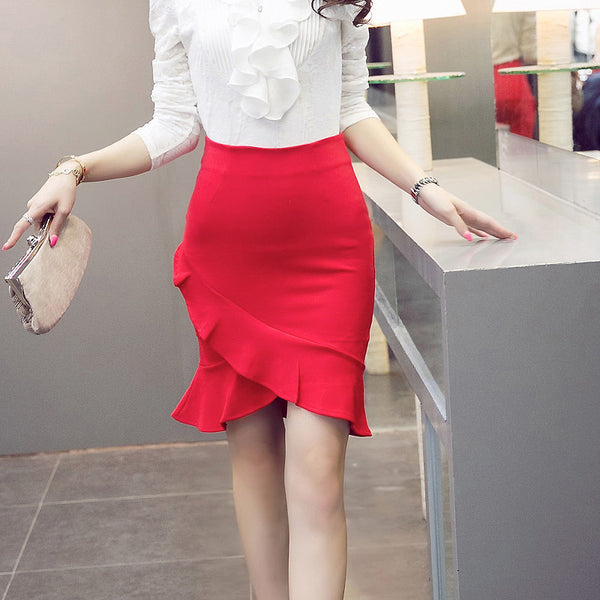 Mia Pencil Skirt - Belle Valoure - 3