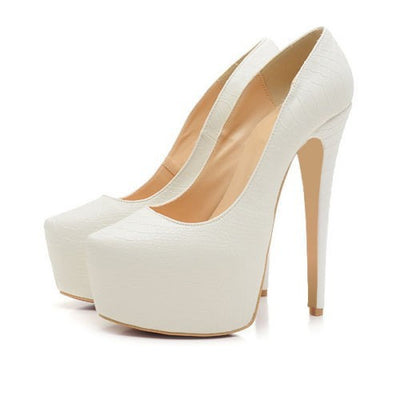 Sale! Tamara Platform Pumps - Belle Valoure - 4