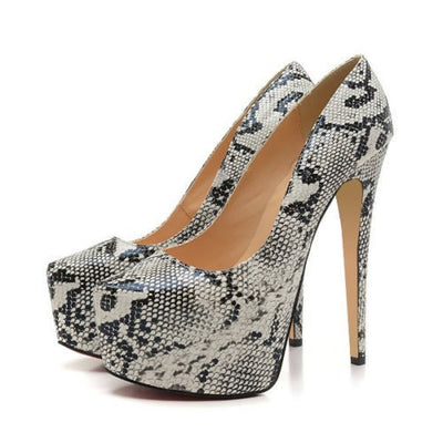 Sale! Tamara Platform Pumps - Belle Valoure - 2