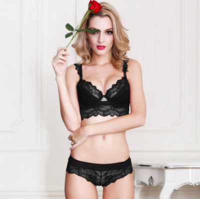Tamarin Lace Bra And Panty Set - Belle Valoure - 2