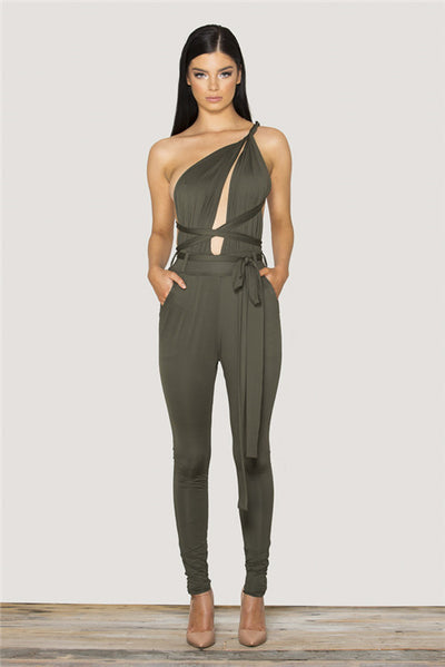 Tamarin Wrapped Jumpsuit - Belle Valoure - 8