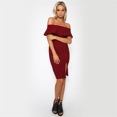 Tamaran Off Shoulder Dress - Belle Valoure - 5
