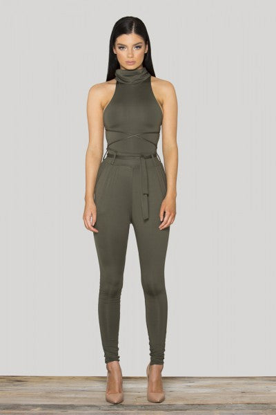 Tamarin Wrapped Jumpsuit - Belle Valoure - 2