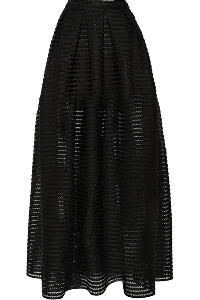 Mia Long Knit Skirt - Belle Valoure - 4
