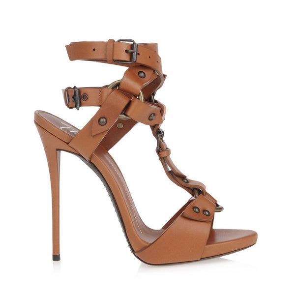 Tamara Gladiator Sandals - Belle Valoure - 5