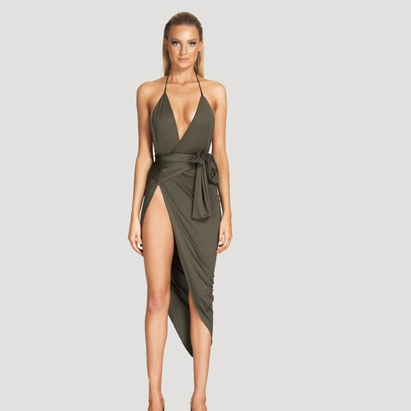 Tamarin Wrap Dress - Belle Valoure - 1