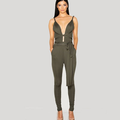 Tamarin Wrapped Jumpsuit - Belle Valoure - 1