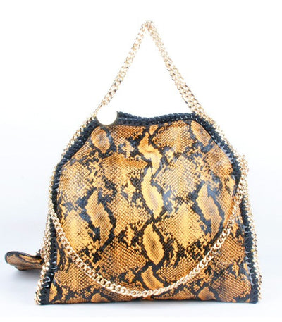 Lux Chain Shoulder Bag - Belle Valoure - 1