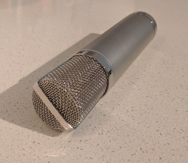 NUDE - Stereo Blumlein Ribbon Microphone - NUDE Microphones