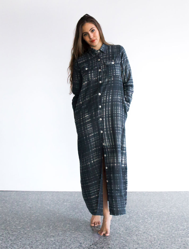 Dayo Shirt Maxi Dress