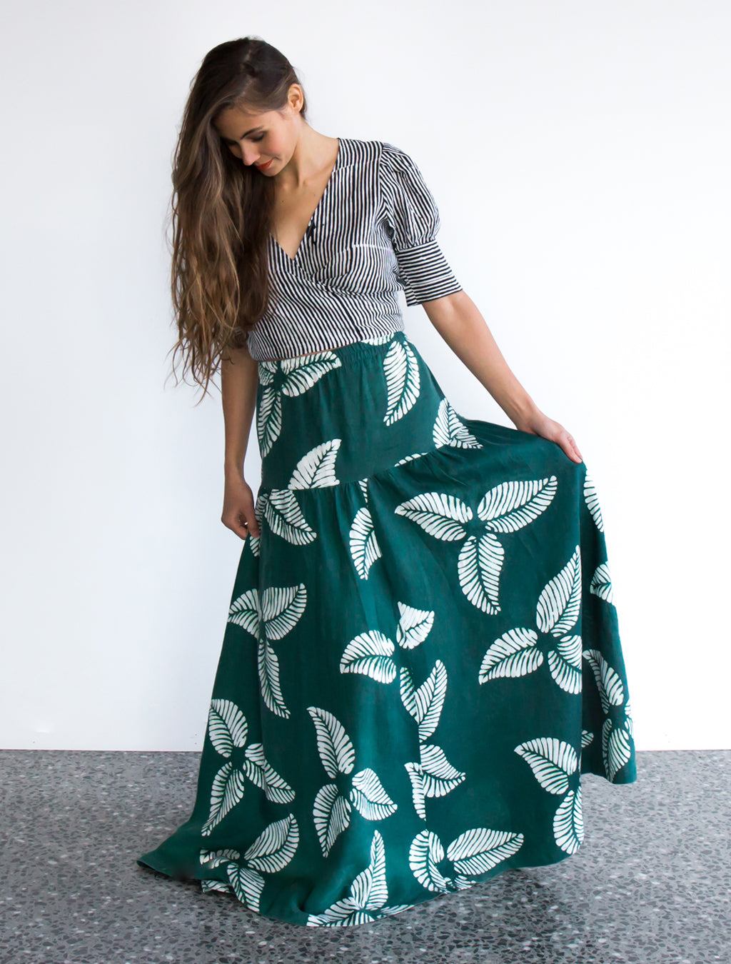 Green Leaf Elize Skirt