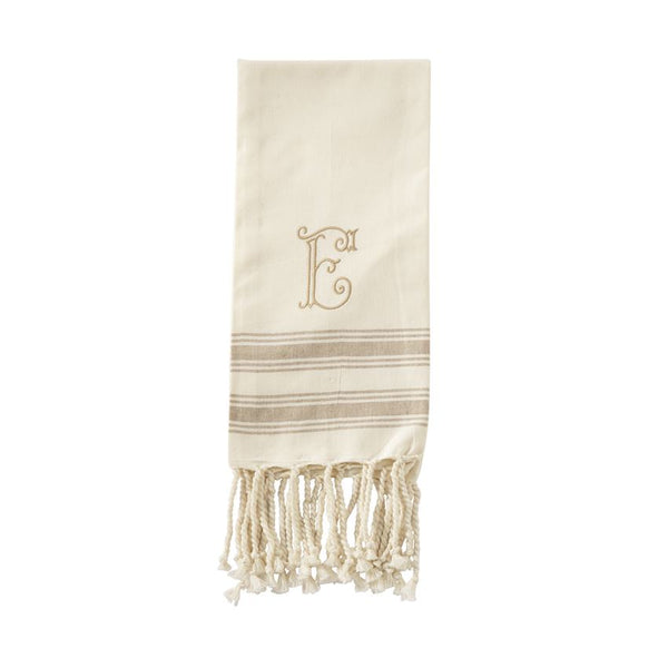 Initial Turkish Hand Towels