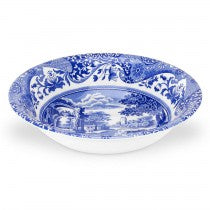 Blue Italian Ascot Cereal Bowl